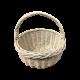 Плетені кошики з лози одиночки