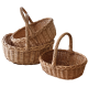 Плетені кошики з лози комплекти