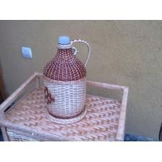 Бутилка для напоїв з лози (на 5літрів)