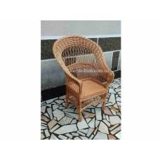 """Крісло з лози """"Розвернуте"""""""