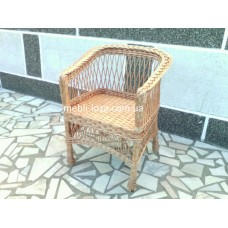 """Крісло з лози """"Барне"""" №2"""