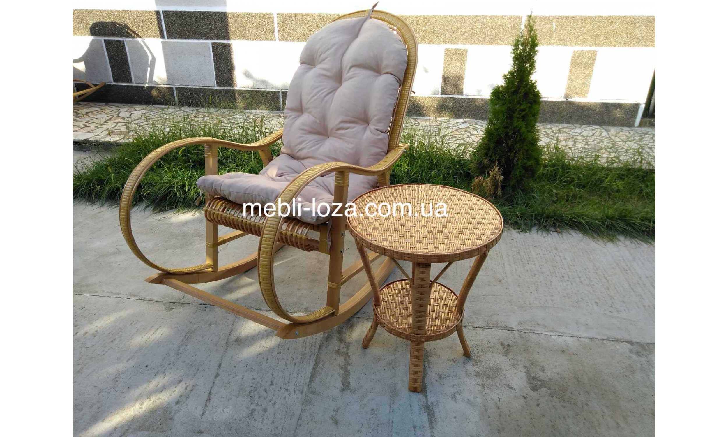 "Комплект крісло гойдалка ""Relax"""